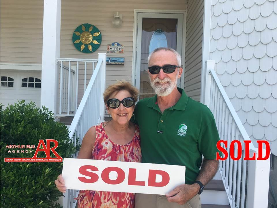 sold home with Arthur Rue Agency